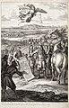 Robert Bonnard, Départ du roy pour la guerre de Holland, dans lequel il ordonna l'exécution de l'Hôtel royal des Invalides, 1683, eau-forte sur papier, 0,41x0,276m.jpg