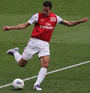 Robin Van Persie vs Swansea 2011 (cropped)