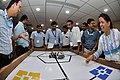 Robot Testing Session - Workshop on Organising Indian and World Robot Olympiad - NCSM - Kolkata 2016-03-07 2312.JPG