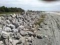 Rochas de estromatolitos na lagoa salgada.jpg