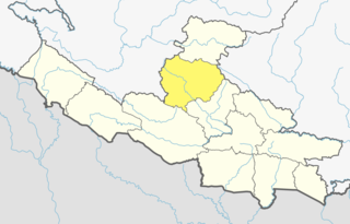 Rolpa District District in Province No. 5, Nepal