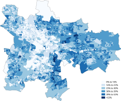 Roman Catholic Glasgow 2011 Census.png