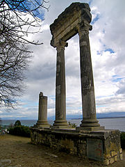 Roman column - Nyon, Vaud, Switzerland