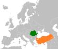 Romania Turkey Locator.png