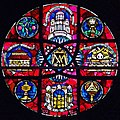 Rose Window. St Mary, Bourne Street, Chelsea.jpg