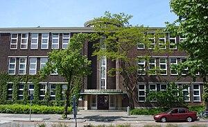 Gymnasium Erasmianum - Image: Rotterdam wytemaweg 25