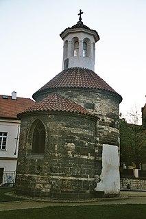 St. Longins Rotunda church in Prague