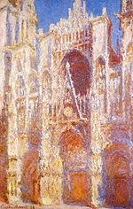 Rouen Cathedral Sunlight W1322.jpg