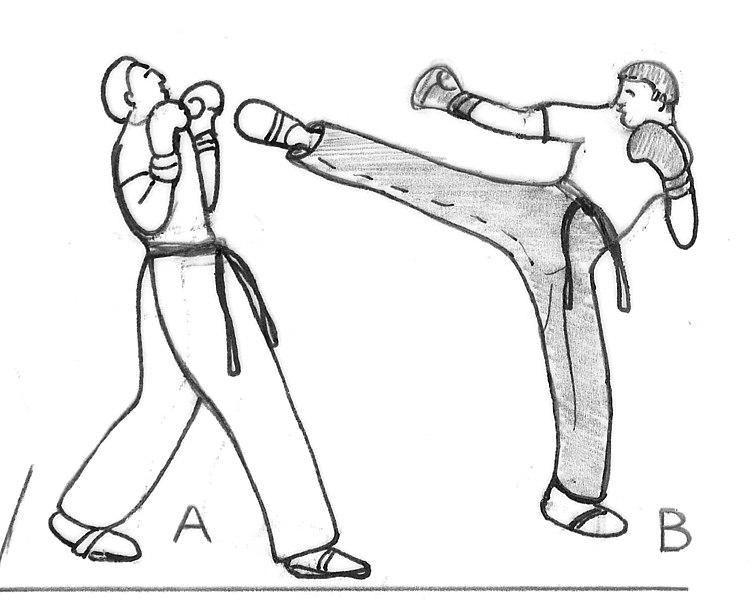 boxe pied poing