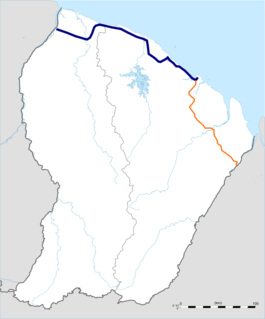 Route nationale 1 (French Guiana)