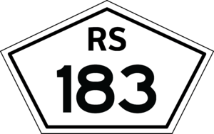 BR-293 - Image: Rs 183 shield