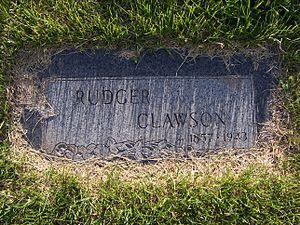 Rudger Clawson - Rudger Clawson's grave marker