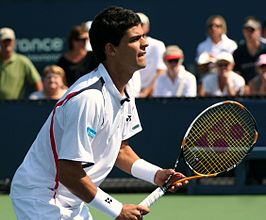 Rui Machado op de US Open, 2011