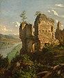 Ruiny zamku w Sobieniu - Andrzej Grabowski.jpg