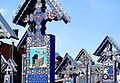 Rumunia, Sapanta, Wesoły Cmentarz -Aw58- 28 IV 2012 r..jpg