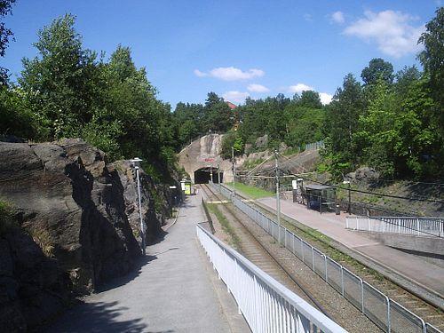 Runstavsgatans spårvagnshållplats i Gbg, den 1 juli 2006.JPG