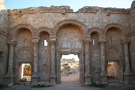 البوابة الشمالية لمدينة الرصافة