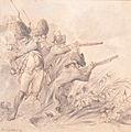 Russian (or English) forces near Bergen, by Dirk Langendijk (1748 - 1805).jpg