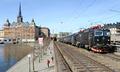 Södra Järnvägsbron bridge in Stockholm Sweden with SJ train.png