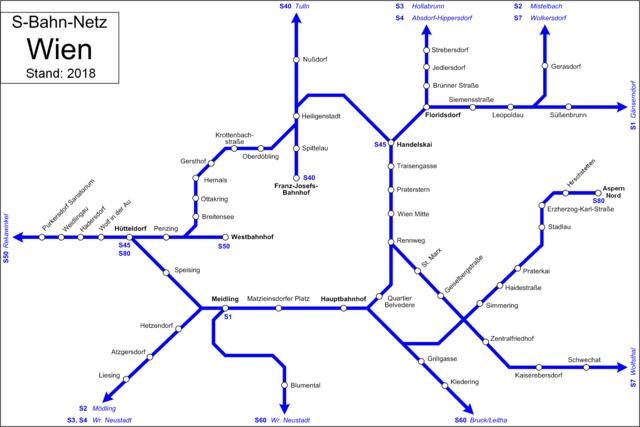 Wien bahn Night train: