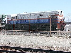 South African Class 31-000 - Image: SAR Class 31 000 31 007