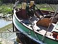 SB Decima at Dartford Lock windlass 8745.jpg
