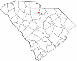 Location of Great Falls, South Carolina