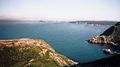 SPOT THE TWO WHALES FROM SIGNAL HILL, ST.JOHN'S 15TH JULY 2002 Port Hope Simpson Off The Beaten Path Llewelyn Pritchard.jpg