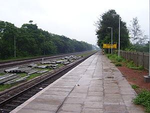 Konkan Railway Corporation -  Surathkal station on Konkan Railway route
