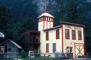 Stewart, British Columbia - Fire hall in Stewart