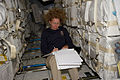 STS-135 Sandy Magnus as load master.jpg
