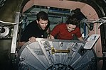 STS-96 Rick Husband and Tamara Jernigan.jpg