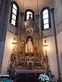 Sacred Heart Church. Altar of Sacred Heart. - Budapest District VIII.JPG