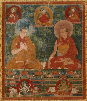 Lotsawa - Sakyasri and Thropu Lotsawa of the Trophu Kagyu