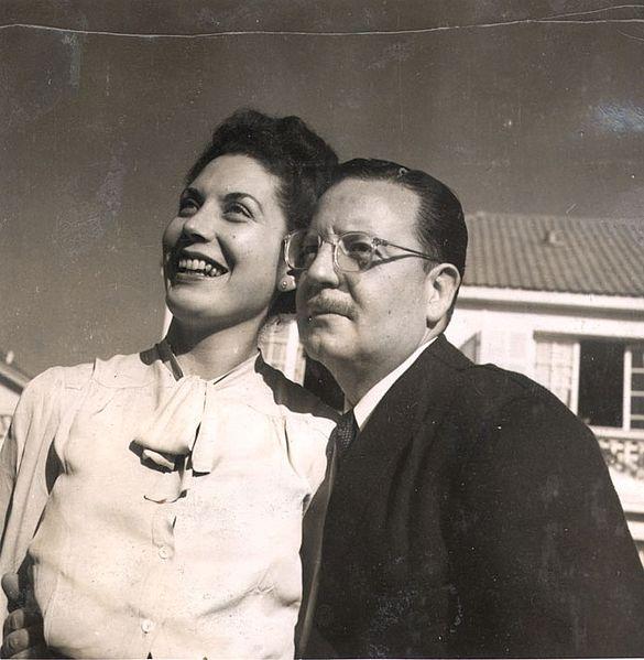 File:Salvador Allende y Hortencia Bussi (1946).jpg