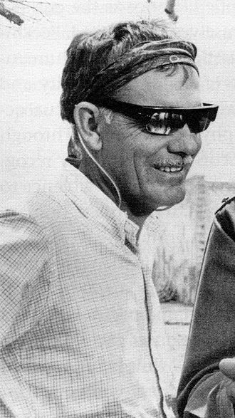 The Getaway (1972 film) - Director Sam Peckinpah on the set of The Wild Bunch (1969)