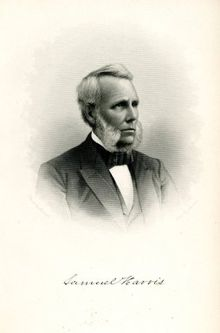 Samuel Harris fifth president of Bowdoin College.jpg