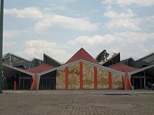 Félix Candela - San Lázaro metro station, Mexico City