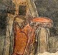 San lorenzo in insula, cripta di epifanio, affreschi di scuola benedettina, 824-842 ca., teoria di sei sante in costume bizantino, 11 corona gemmata.jpg