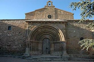 Cubells - Cubells castle, Santa Maria church