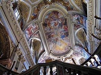 Carlo Fontana - Santi Apostoli ceiling.