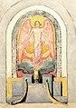 Sascha Schneider Relief für das Grabmal Burghagen c1920.jpg