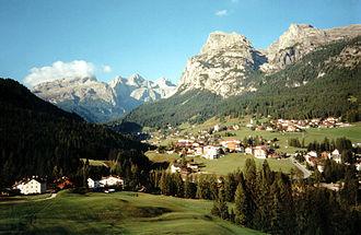 Alta Badia - Image: Sassongher