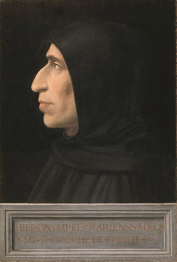 Portrait de Jérôme Savonarole
