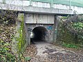 Schierstein, Wiesbaden, Germany. Pedestrian tunnel under the Wiesbaden-Eltville railroad line, south side. - panoramio.jpg
