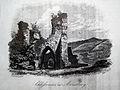 Schloßruine mit Spitzbögen Arnsberg vor 1844.JPG