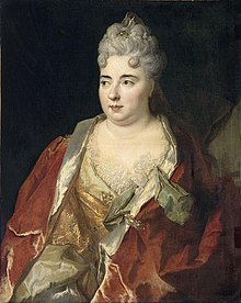School of Largillière - Presumed portrait of Marie Anne Mancini - Louvre.jpg