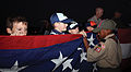 Scouts learn pride, honor during Evening Colors 121106-M-OY715-004.jpg