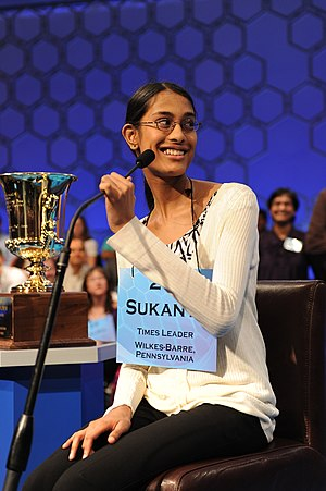 84th Scripps National Spelling Bee - Sukanya Roy, Champion of the 2011 Scripps National Spelling Bee