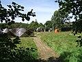 Sculpture garden, Dinas Cross - geograph.org.uk - 207614.jpg